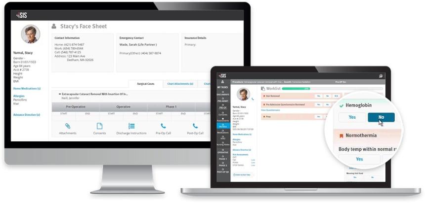 Web-based ASC clinical documentation system