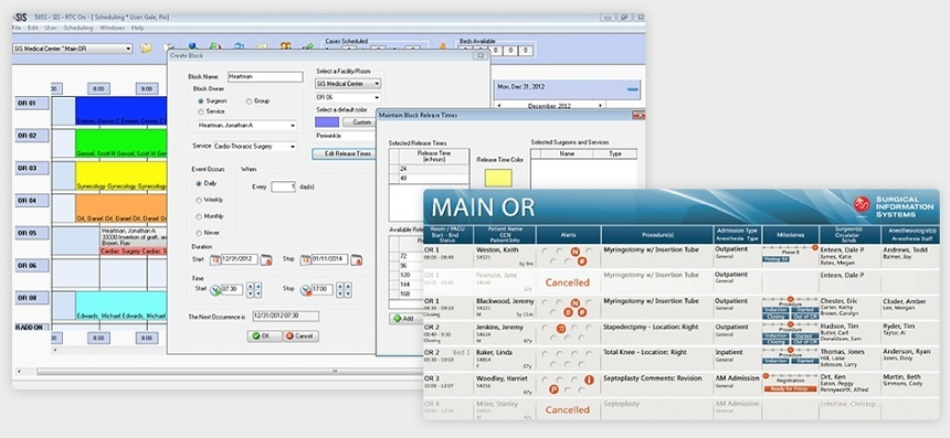 Surgery Information Management System